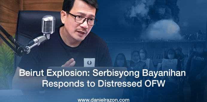 Beirut Explosion: Serbisyong Bayanihan Responds to a Distressed OFW